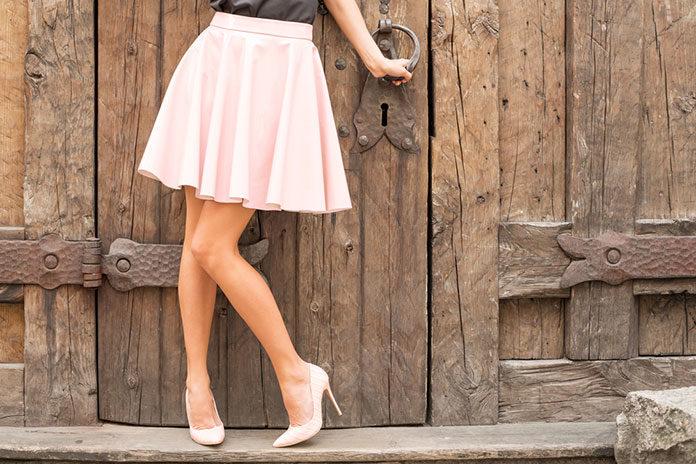 Do czego nosić spódnice rozkloszowane?